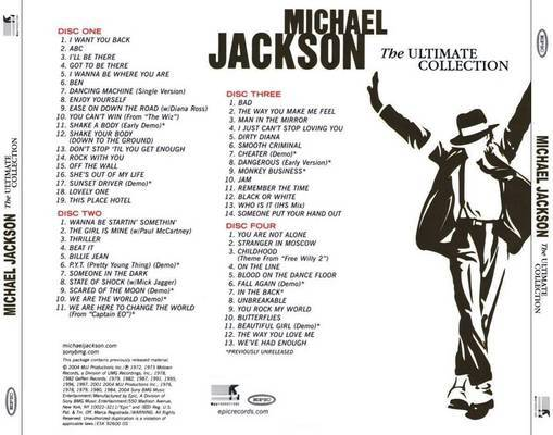 Michael Jackson Ultimate Collection